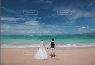 沖縄の海にての写真・画像素材[1380204]