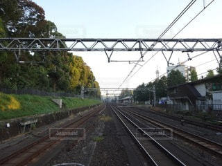 線路の写真・画像素材[68324]