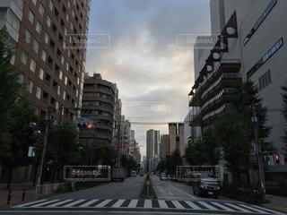 ビル街の写真・画像素材[73500]