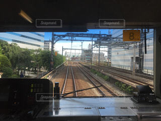 電車の写真・画像素材[164522]
