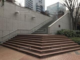 れんが造りの階段の写真・画像素材[1025948]