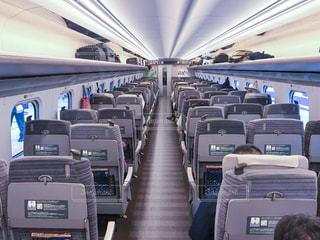 東北新幹線はやぶさ車内(1)の写真・画像素材[2246891]