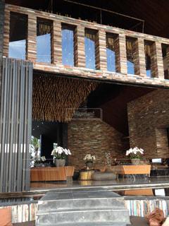 バリのホテルフロントの写真・画像素材[1369487]