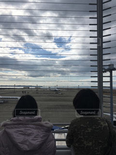 空港の見送りの写真・画像素材[1369652]
