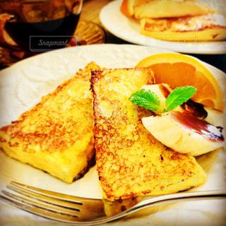 大好き手作りフレンチトーストの写真・画像素材[1369986]