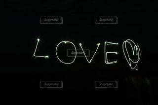 ペンライトで文字を書いてみました!!の写真・画像素材[1537390]