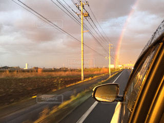 雨上がりの虹の写真・画像素材[1375245]