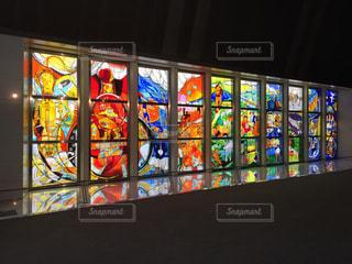 ステンドグラスの写真・画像素材[1382783]
