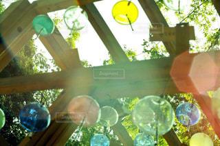 夏と風鈴と木漏れ日との写真・画像素材[1371562]