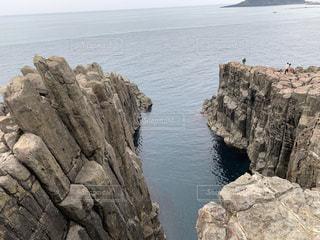 東尋坊の崖の写真・画像素材[2231755]