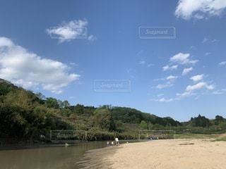 川と山の写真・画像素材[2231756]