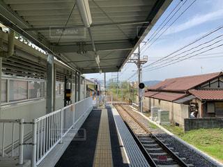 田舎の駅の写真・画像素材[2231757]