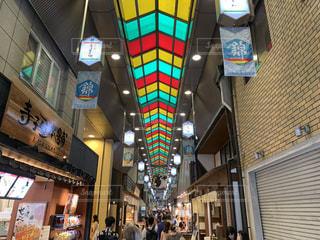 旅行先京都錦市場の写真・画像素材[2237079]