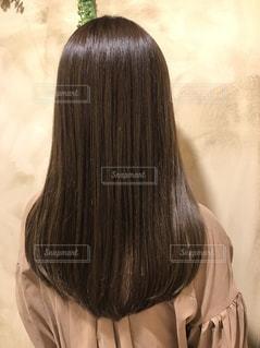 後ろ髪の写真・画像素材[1375134]