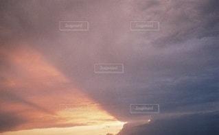 夕陽の写真・画像素材[3537517]