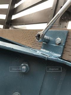 DIYデッキの大修理5の写真・画像素材[1398220]