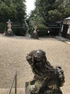 山陵八幡神社にての写真・画像素材[1453075]
