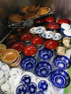 食器の準備の写真・画像素材[1687965]