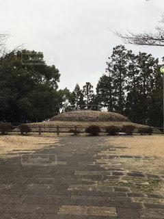 石のカラト古墳の写真・画像素材[1823512]