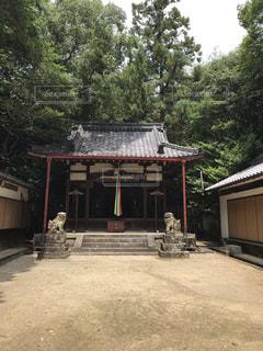 佐紀神社(西畑)拝殿と境内の写真・画像素材[2285089]