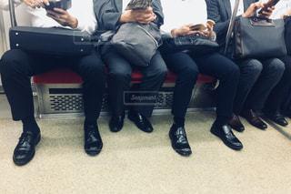 通勤の電車の写真・画像素材[1493723]