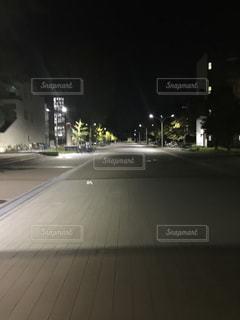 夜道の写真・画像素材[1576037]