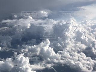 飛行機から風景の写真・画像素材[1380418]