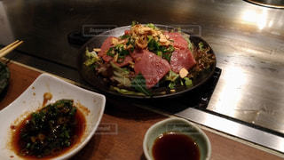 鉄板焼きで最高の肉をの写真・画像素材[1375860]