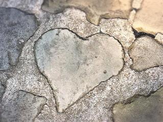 パワースポットハートの石の写真・画像素材[3196216]