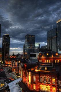 夜の街の写真・画像素材[1484196]