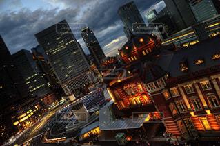 都市の高層ビルの写真・画像素材[1484201]