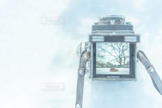 雪、リンゴ、カメラの写真・画像素材[1576454]