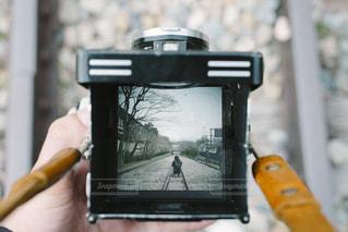 線路、カメラの写真・画像素材[1576468]