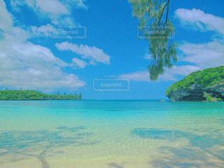 ニューカレドニアの海の写真・画像素材[1383876]