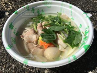 山形の新郷土料理の塩芋煮の写真・画像素材[2441927]