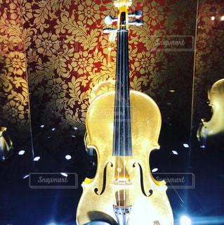 買えない黄金のバイオリンの写真・画像素材[1377723]
