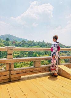 清水寺からの景色の写真・画像素材[1380783]