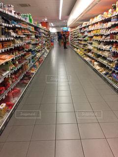 スーパーマーケットの写真・画像素材[1382764]