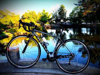 サイクリングの写真・画像素材[1378101]