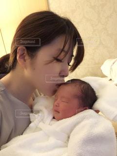 こんにちは赤ちゃんの写真・画像素材[1391098]