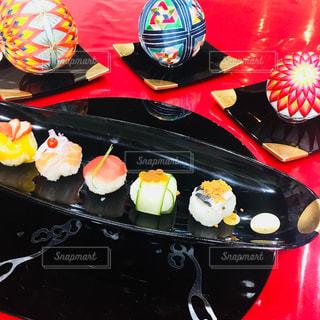 手まり寿司の写真・画像素材[1378698]