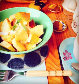フレンチトーストの写真・画像素材[1378947]