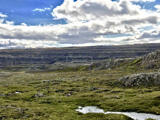 段々岩の写真・画像素材[1422422]