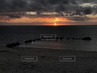 石垣島の朝日の写真・画像素材[1601371]