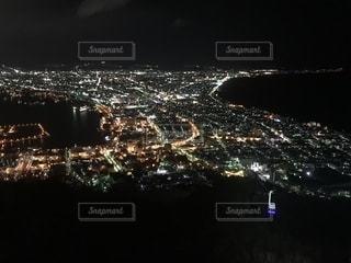 函館山からの夜景の写真・画像素材[1381198]