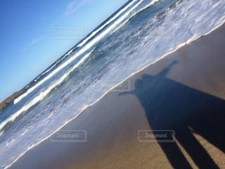 思い出のビーチの写真・画像素材[1386582]
