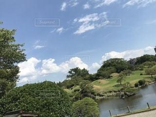 熊本水前寺公園の写真・画像素材[1400927]