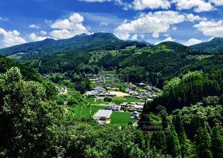 田舎の景色の写真・画像素材[1392029]