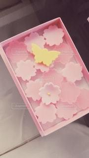 桜のお菓子の写真・画像素材[2680419]