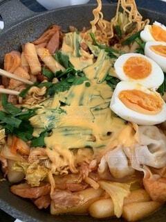ラッポギ?ラッポキ?韓国料理の写真・画像素材[4254655]